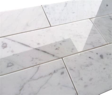 premium italian 3 215 8 carrara marble tile polished the