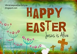 Happy Easter, Jesus Is Alive Pictures, Photos, and Images ...