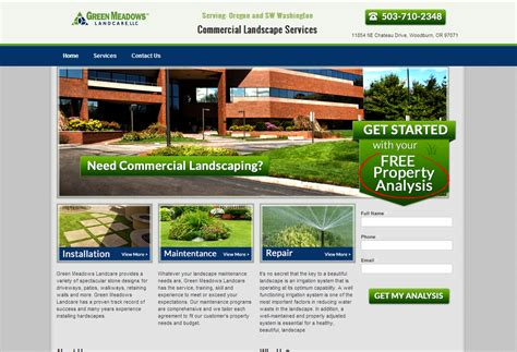 site design landscape 20 great local business lead generation website designs lead generation websites