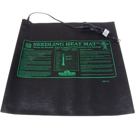 seedling heat mat hydrofarm seedling heat mats grow lights mats trays