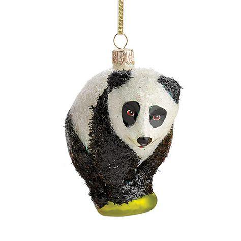 panda christmas ornament gump s