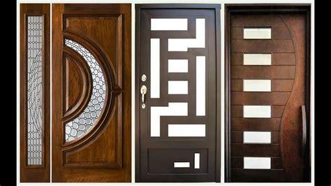 Wooden Door by Top 60 Modern Wooden Door Designs For Home 2018 Plan N