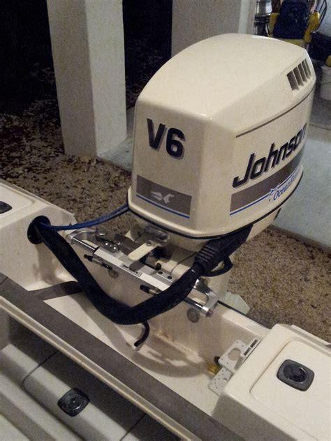 rigging tube installing f150 yamaha hydraulic attachment beau hull truth verado fishing