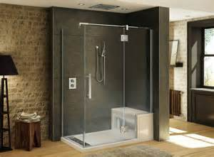 48 Shower Pan by 10 Fabulously Modern Shower Stalls With Seat Ideas