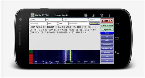 radio app android droidrtty rtty for ham radio app android qrz now