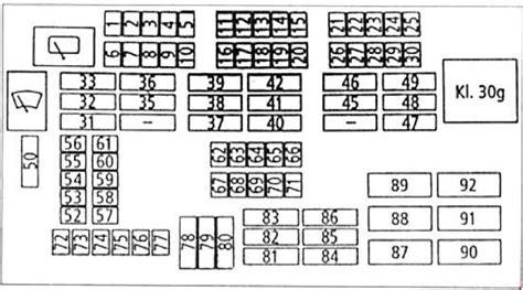 bmw  series       fuse box