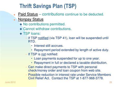 thrift savings plan phone number ppt technician userra briefing powerpoint