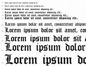 Old English Gothic Regular truetype font