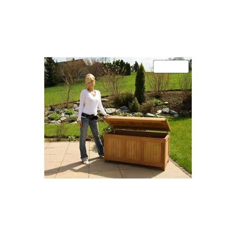 ustensiles de cuisine induction banc coffre de rangement jardin extérieur en bois avec coussin
