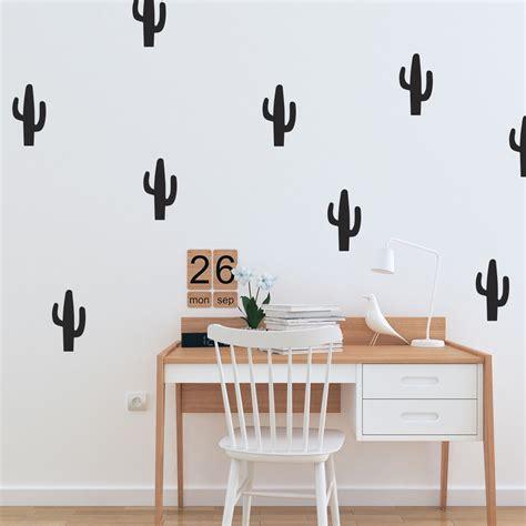 muursticker cactus eigen kleur formaat aantal al