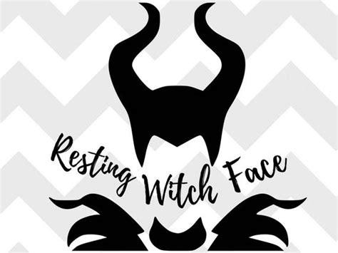 2 png files, transparent background and resolution 300 dpi. resting witch face SVG disney SVG halloween halloween svg