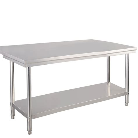 stainless steel food prep table 30 quot x 48 quot stainless steel commercial kitchen work food prep