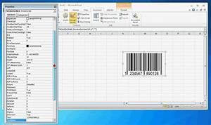 how to create a barcode in excel 2010 with vba youtube With create barcode in excel