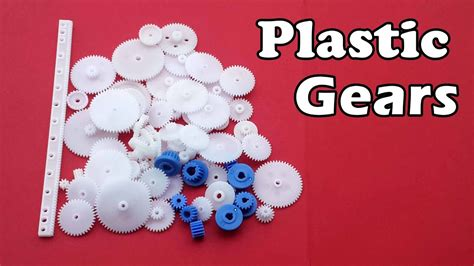 Different Types Of Plastic Motor Gears For Your Diy