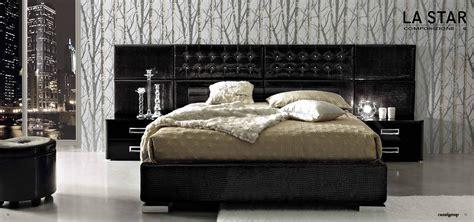 black modern bedroom set decobizz
