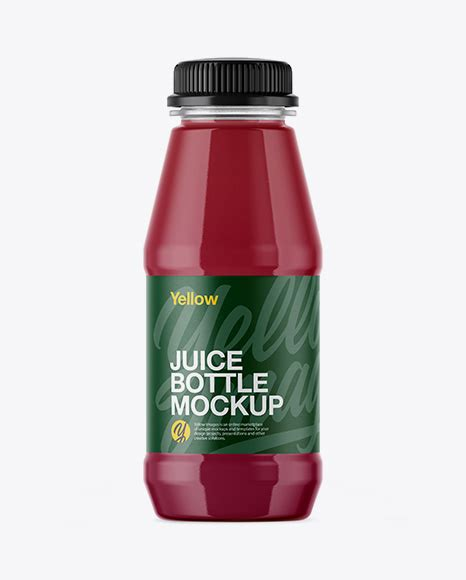 Free juice bottle branding mockup. Free PSD Mockup Plastic Bottle With Berry Juice Mockup ...