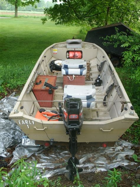 10ft Jon Boat Setup by S River Jon Tinboats Net