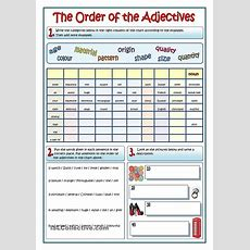 Best 25+ Order Of Adjectives Worksheet Ideas On Pinterest  Order Of Adjectives, Subject Verb