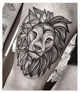 lion head tattoo dots - Google Search | Lion tattoo ...