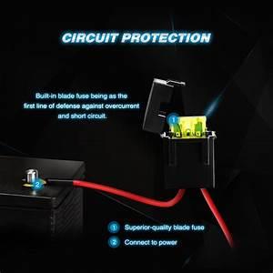 Nilight Led Light Bar Wiring Harness Kit 12v On  Off Switch Best Offer Ineedthebestoffer Com