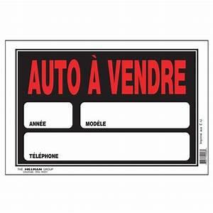 Voiture Occasion Avesnes Sur Helpe : pancarte auto vendre 8 po x 12 po affiches pancartes canac ~ Gottalentnigeria.com Avis de Voitures