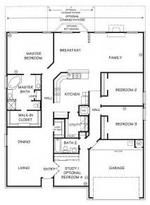 The Silver Bell Floor Plan | Killeen TX New Homes For Sale