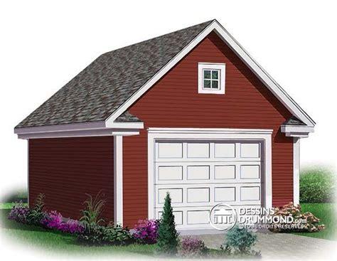 Plan De Garage Avec Loft by 27 Best One Car Garage Plans Images On Car
