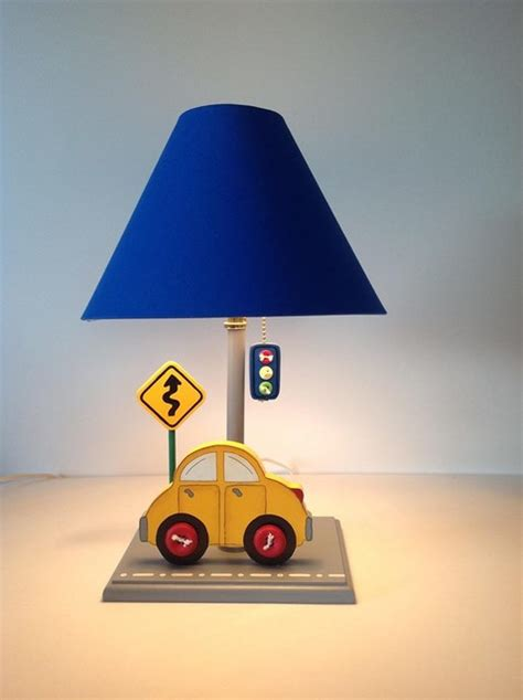 Cars Table Lamps for Kids Room   Kids Lamps   by Under Ten