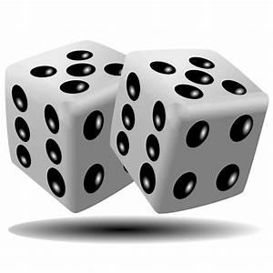 Clipart - Pair of dice