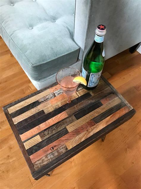 Made from 100% reclaimed barn and fence wood, this coffee table brings nature into your home. Rustic Modern Barnwood Coffee and End Tables - various sizes - Industrial Furniture - Modern ...