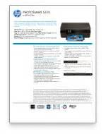 Hp Inkjet Printer Comparison Chart Amazon Com Hewlett Packard Photosmart 5510 Wireless Color