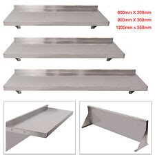 stainless steel wall shelf  kitchen racks holders  sale ebay