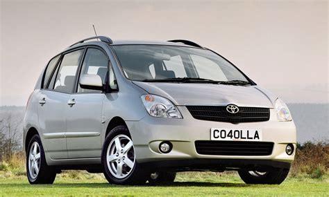 Toyota Corolla Dimensions by Toyota Corolla Verso Dimensions