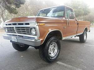 Sell Used 1974 Ford F250 4x4 Rebuilt 360 V8 No Reserve
