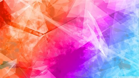 colorful abstract wallpaper abstract polygonal colorful backgrounds hd desktop