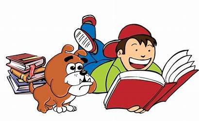 Reading Clipart Novel Bulldog Someone Transparent Summer