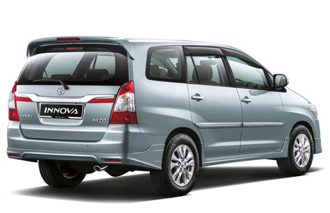 Toyota Innova Price by All New Toyota Innova 2014 White