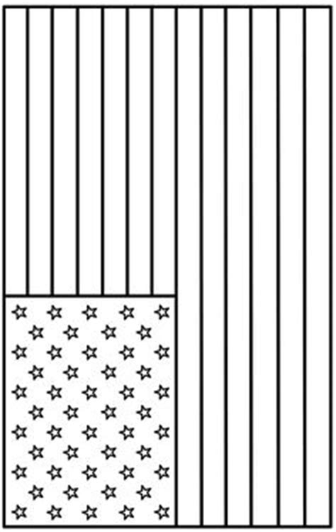 printable american flag coloring page  american flag