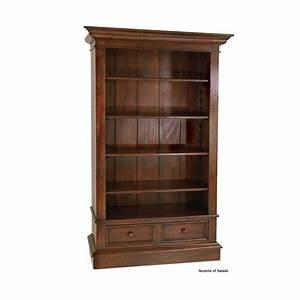 Magdalena Tall Wood Bookcase
