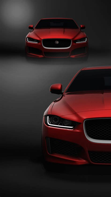 Jaguar Red Car Hd Mobile Wallpaper  Vactual Papers