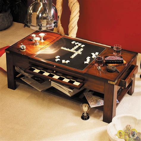 This board game coffee table has a removable oak top that reveals a recessed playing area of 24 inches long by 24 inches wide. Likable Coffee Table Game Table With Diy Board Game Table: Coffee Table Game Table. Game Board ...