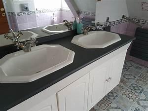 Support Plan De Travail : test resinence renovation plan de travail notre avis ~ Farleysfitness.com Idées de Décoration