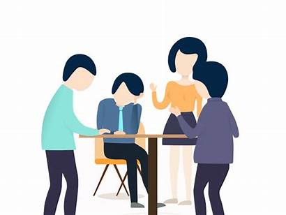 Talking Animated Clipart Animation Counseling Student Transparent