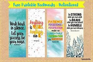 Paper Invader: Free Printable Bookmarks - Motivational