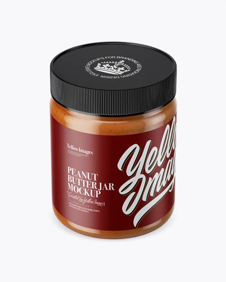Get free money towards your purchases with creative market credits. Smoked Peanut Butter Jar Mockup (High-Angle Shot) in Jar ...