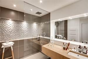 appartement parisien 111 scandinave salle de bain With salle de bain d appartement