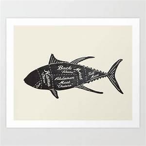 Tuna Butcher Diagram