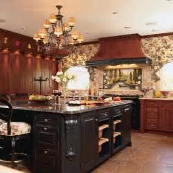 cherry kitchen island photos hgtv