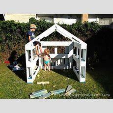 Kleines Haus Für Die Kinder Von Paletten 4 Zukünftige