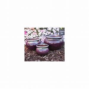 Pot En Terre Cuite émaillée : pot en terre cuite maill e jonc pourpre d31 h25 ~ Dailycaller-alerts.com Idées de Décoration